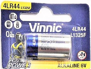 Vinnic 4LR44 6V アルカリ 乾電池 【 1個入り 】 水銀0% ブリスターパッケージ