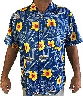 AE Sport US Navy Hawaiian Shirt