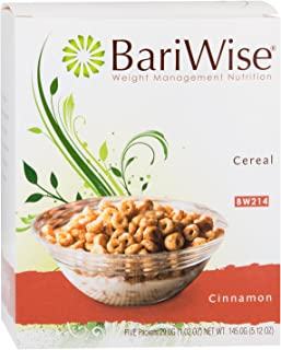 BariWise Low-Carb High Protein Diet Cereal - 15g Protein Per Serving - Cinnamon Flavored Cereal - (5 Count)