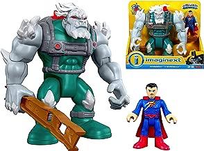 Imaginext DC Superfriends Doomsday & Superman Figures