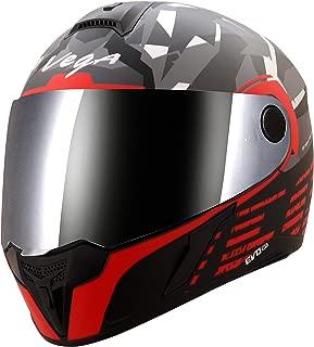Vega Evo BT Camo Dull Black Red Helmet- L