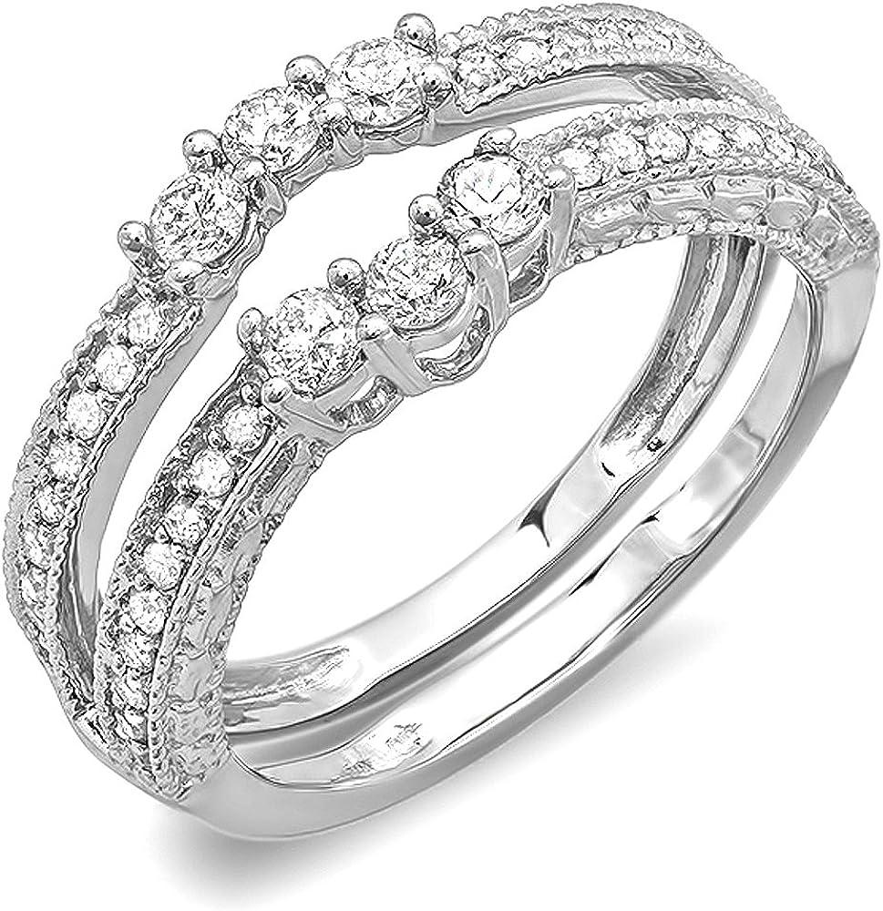 Dazzlingrock Collection 0.60 Carat ctw Diamond Round Max 78% OFF Max 56% OFF Ladies An