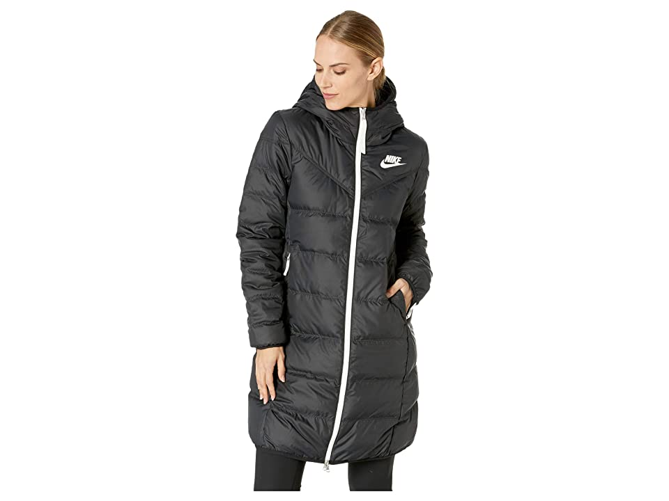 Nike Nike Sportswear Windrunner Down Fill Parka Reversible (Black/Black/Sail) Women