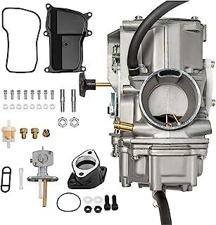 KIMISS Fuel Valve Switch Kit+Carburetor Intake Kit 2pcs//Set Carburetor Intake Manifold Fuel Valve Switch Fit for Yamaha Big Bear 350 YFM350 87-99