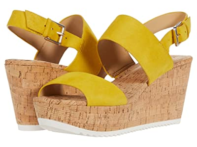 Nine West Dera (Yellow Suede) Women