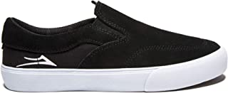 Lakai Footwear Owen Kids Black Suedesize 1 Tennis Shoe, Black Suede
