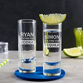 Personalized Shot Glass - Personalized 21st Birthday Gifts - Engraved Shot Glass - Personalized Engraved Glass - alcohol Gifts for Men