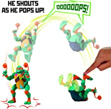 Rise of the Teenage Mutant Ninja Turtles Michaelangelo Pop-Up Ninja Attack Deluxe Figure