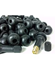 チューブレス タイヤ ゴム エア バルブ TR413 シム コア 入り 銅製 亜鉛合金製 4個~100個 セット