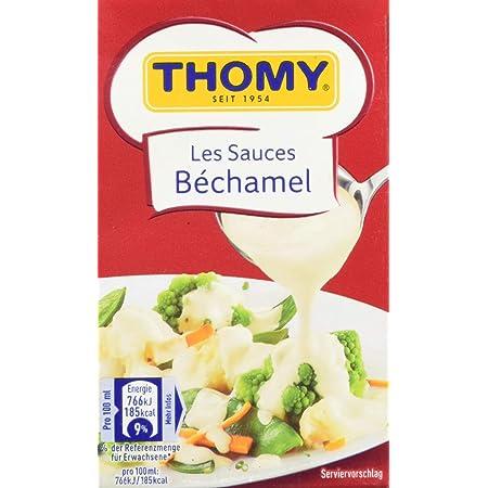 Thomy Les Sauces Bechamel 2 5 Portionen 1er Pack 1 X 250ml Combiblock Amazon De Lebensmittel Getranke