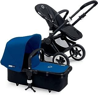 Bugaboo Buffalo Black Frame Stroller (Blue)