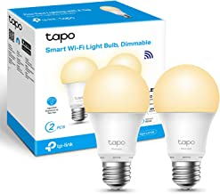 TP-Link Tapo Smart Bulb, Smart WiFi LED Light, E27, 8.7W, Compatible with Alexa(Echo and Echo Dot), Google Home, Dimmable ...