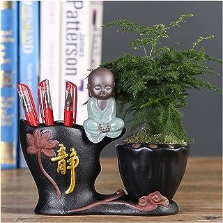 Pen Holder حامل قلم رصاص من السيراميك، إكسسوارات سطح المكتب الإبداعية أزياء متعددة الأغراض حامل قلم رصاص لطيف، للأطفال، ال...