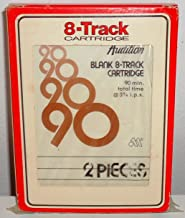 BRAND NEW - Audition Blank Original 90 Minute 8 Track Cartridge Tape with protective case for Recording Music