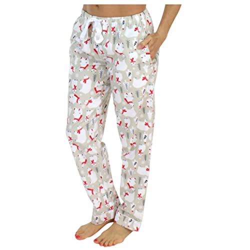 348c6f73fcb2 PajamaMania Women s Sleepwear Flannel Pajama PJ Pants