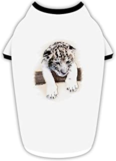 TooLoud Leopard Cub Stylish Cotton Dog Shirt