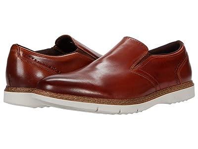 Stacy Adams Sideline Slip-On Loafer (Cognac) Men