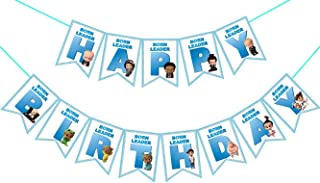 Boss Baby Happy Birthday Banner for Kids Birthday Party Decoration,Includes 13 Pieces Well Designed Flags.