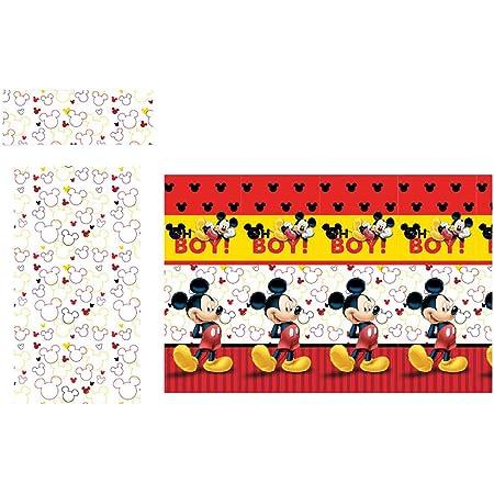 Disney Juego sabanas Mickey Boy Rojo Cama 105cm