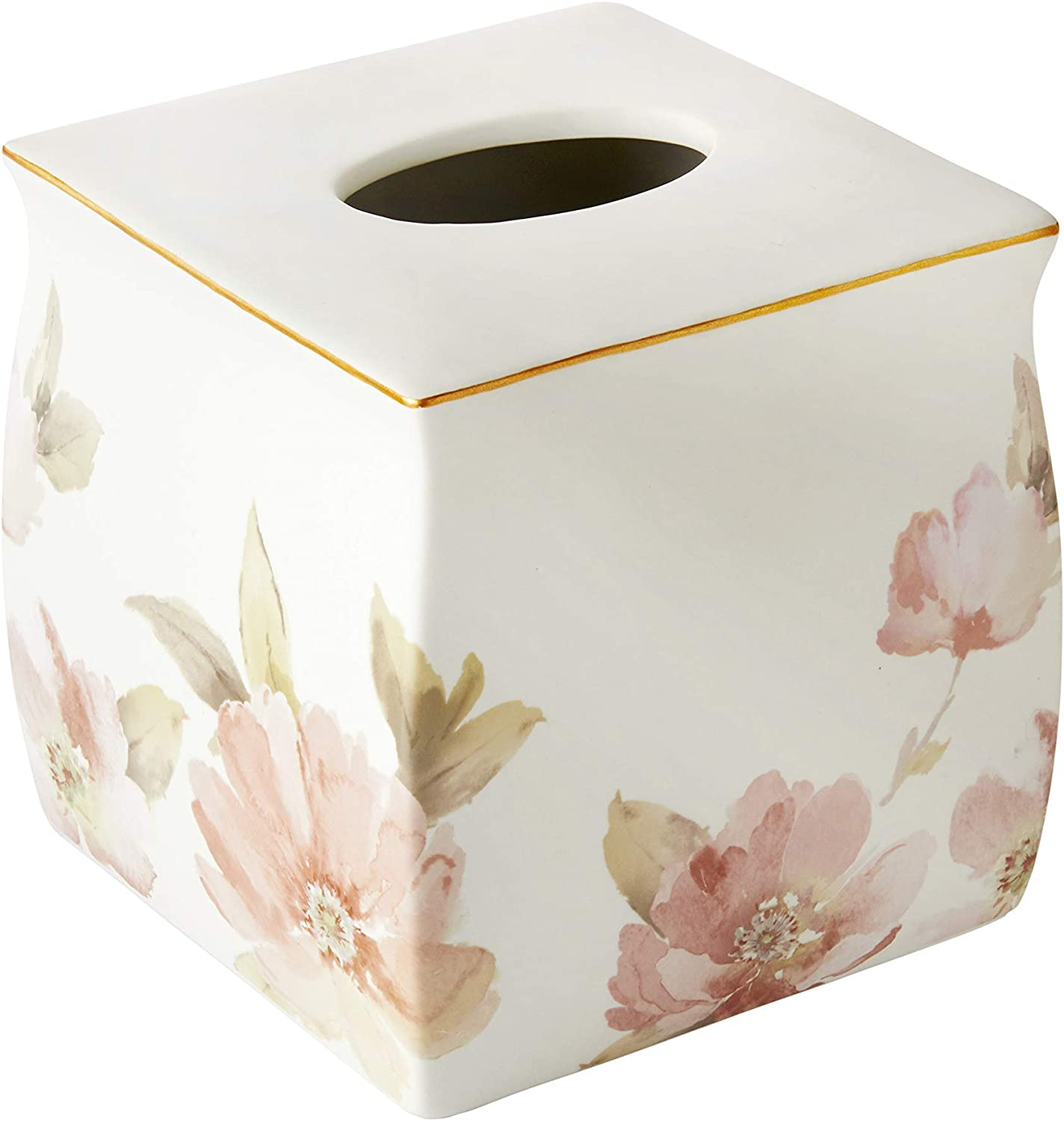 SKL HOME by Saturday Knight Ltd. Max 84% OFF Import Misty Cover Floral Box Tissue