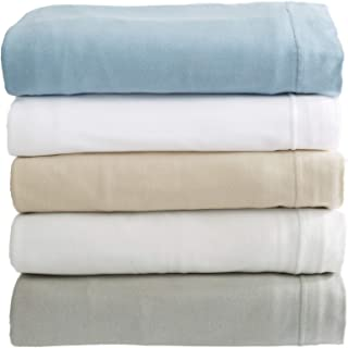 Great Bay Home Extra Soft Modal Jersey Knit Sheet Set. Soft, Comfortable, Cozy All-Season Bed Sheets (Twin, White)