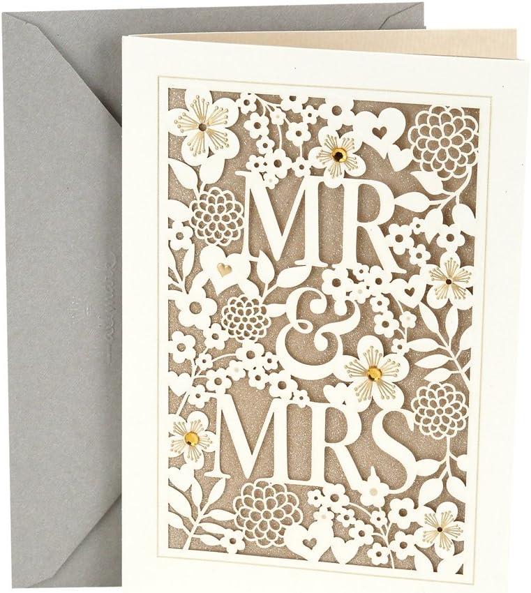 Hallmark Ranking TOP3 Wedding Card Mrs. Mr. Excellence