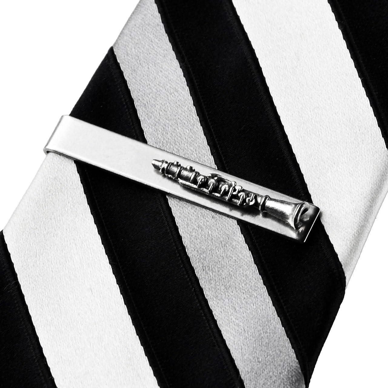 Quality Handcrafts Guaranteed Clarinet Tie Clip