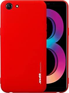 Oppo A83 SMTT Candy Series TPU Soft Case Cover - Red