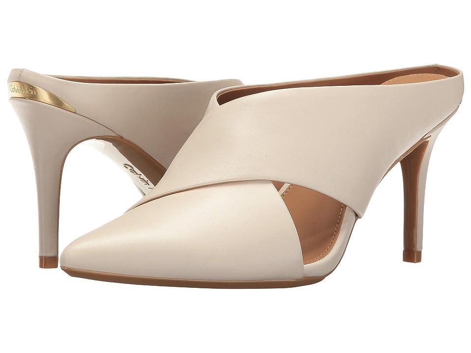 Calvin Klein Gilliana (Soft White Leather) Women