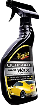 Meguiar's G17516EU Ultimate Quik Spray Wax 450ml Hydrophobic Polymer Technology: image
