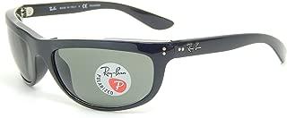 Ray Ban Balorama RB4089 601/58 Black/ Crystal Green 62mm Polarized Sunglasses