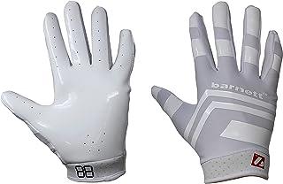 BARNETT FRG-03 White Pro Receiver American Football Gloves, RE, DB, RB