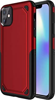 iPhone11 Case Compatible with Apple iPhone 11 Phone Cover [Under Armour] IP i11 ip11 Cases Ultra Thin Slim Apple11 Coque Protective Bumper for I Phone11 6.1 inch 2019 Red