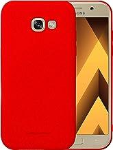 Samsung Galaxy A7 2017 Molan Cano Flexible Matte Silicone Soft Back Case - Red
