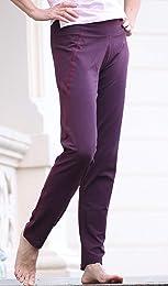 Daylu Pantalon de yoga en coton bio pour homme et