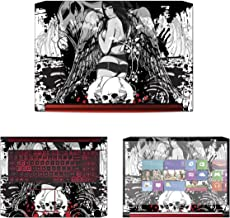 Decalrus - Protective Decal Skin Sticker for Acer Nitro 5 AN517-51 (17.3