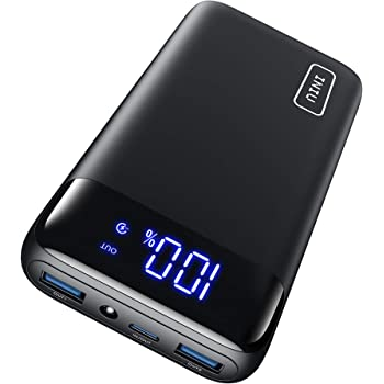 INIU Portable Charger, 18W PD3.0 QC4.0 Fast Charging LED Display 20000mAh Power Bank, Tri-Outputs Battery Pack Compatible with iPhone 12 11 XS X 8 Samsung S20 Google LG iPad Tablet etc. [2021 Version]