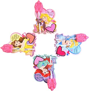 Disney Princesses Candy Card and Lollipop Classroom Exchange, 28 Count