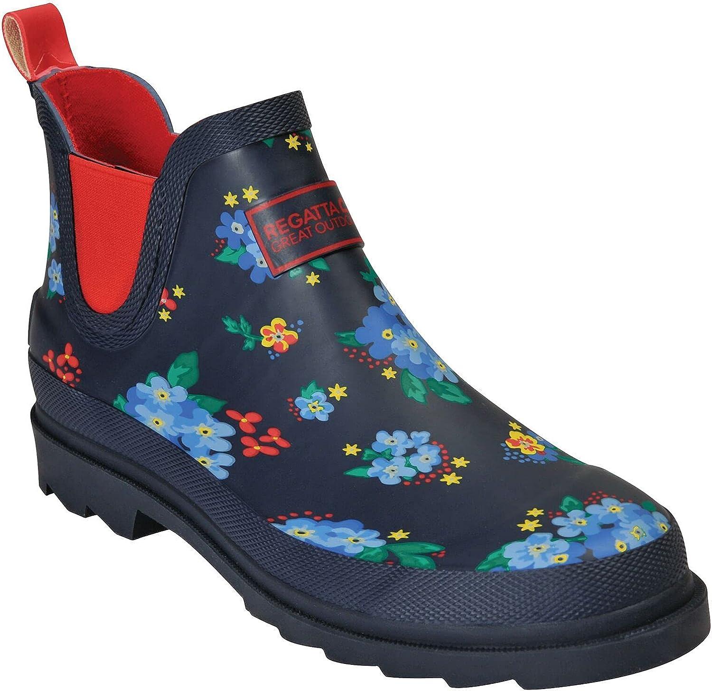 Regatta Women's Wellington Boots Rain 着後レビューで 送料無料 誕生日/お祝い