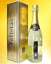 フェリスタス 金箔入りスパークリングワイン 箱入 750ml