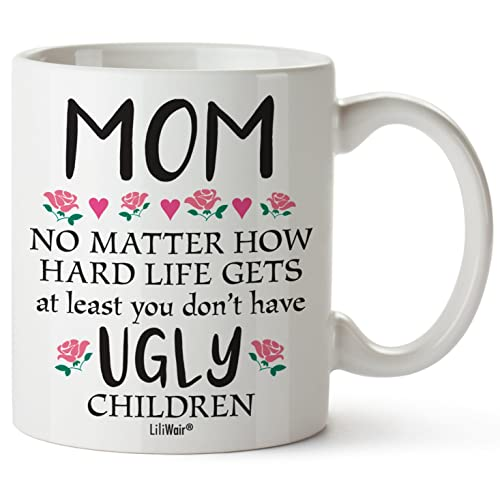 Mothers Day Gifts For Mom Gift Funny Birthday Coffee Cup Mugs From Daughter Son