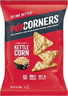 PopCorners Popped Corn Chips, 5 Oz. Bags (Set of 2) (Carnival Kettle)