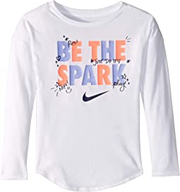Be the Spark Modern Long Sleeve Tee (Little Kids)