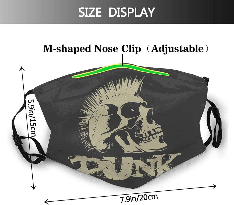 Skull In Space Helmet Face Mask Washable & Reusable - Adjustable & Breathable Fliter Fashion Scarf