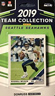 Seattle Seahawks 2019 Donruss Factory Sealed 12 Card Team Set with Russell Wilson and Rated Rookie Cards of DK Metcalf and Gary Jennings Plus 9 Other Players
