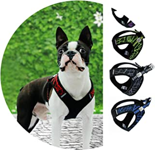 littlepiggy Soft Chest Vest Harness Pet Sport Haulage Rope Pet Dog Outdoor Chest Vest Reflective Stability Structure