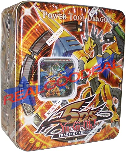 calidad fantástica Yu Gi Oh YuGiOh 5D's 2009 Collection Tin 1st Wave Wave Wave Power Tool Dragon  descuento de ventas en línea
