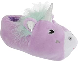 Slumberzzz Childrens/Kids Soft Unicorn Design Slippers