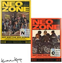 K-POP NCT 127 - NCT #127 Neo Zone, The 2nd Regular Album, N + C Covers SET incl. CD, 60pg PhotoBook, 20pg Lyrics Book, Pos...