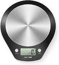 ACCUWEIGHT Balance Cuisine Numérique Balance Alimentaire Électronique Balances Postales avec Plate-Forme en Acier Inoxydab...